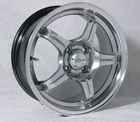 17X7.0 Starcorp Racing Lite 5 - Shadow
