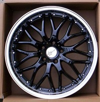 18x8.0 Starcorp Racing Fusion - Black