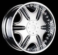 22x8.5 XONI DIVA CHROME